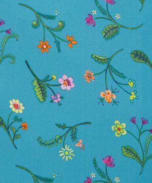 Swedish Meadow Silk Satin