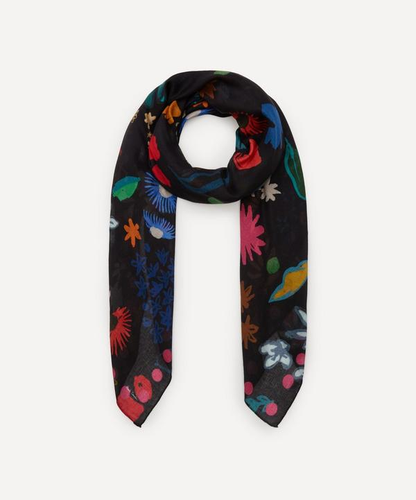 Paul Smith - Painted Floral Scarf
