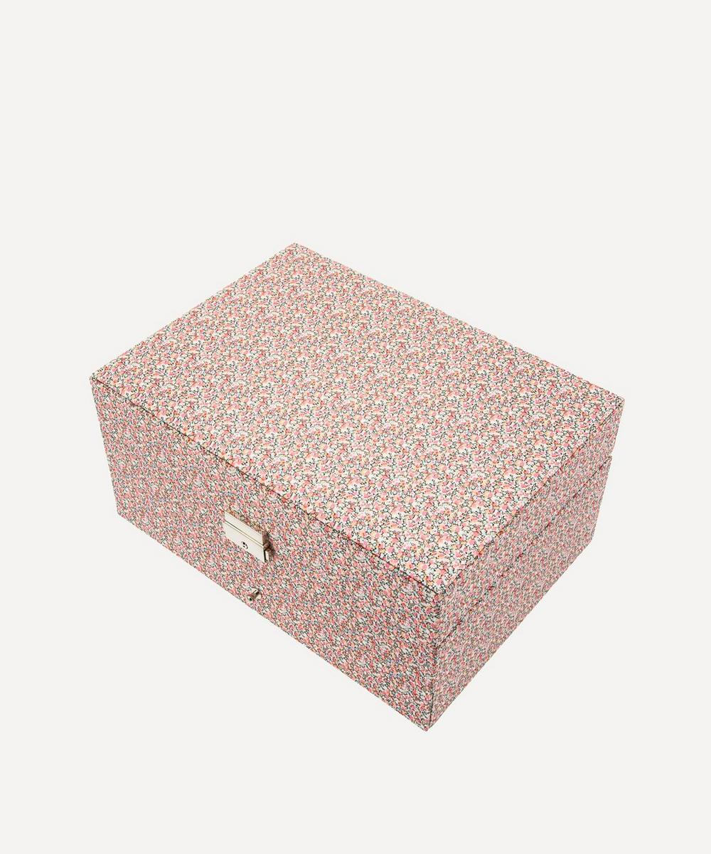 Bon Dep - Pepper Liberty Print Square Jewellery Box