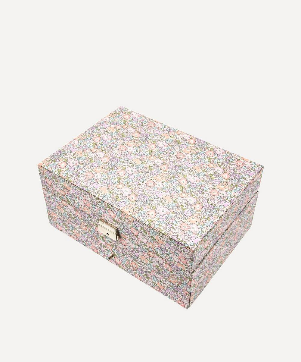 Bon Dep - Michelle Liberty Print Square Jewellery Box