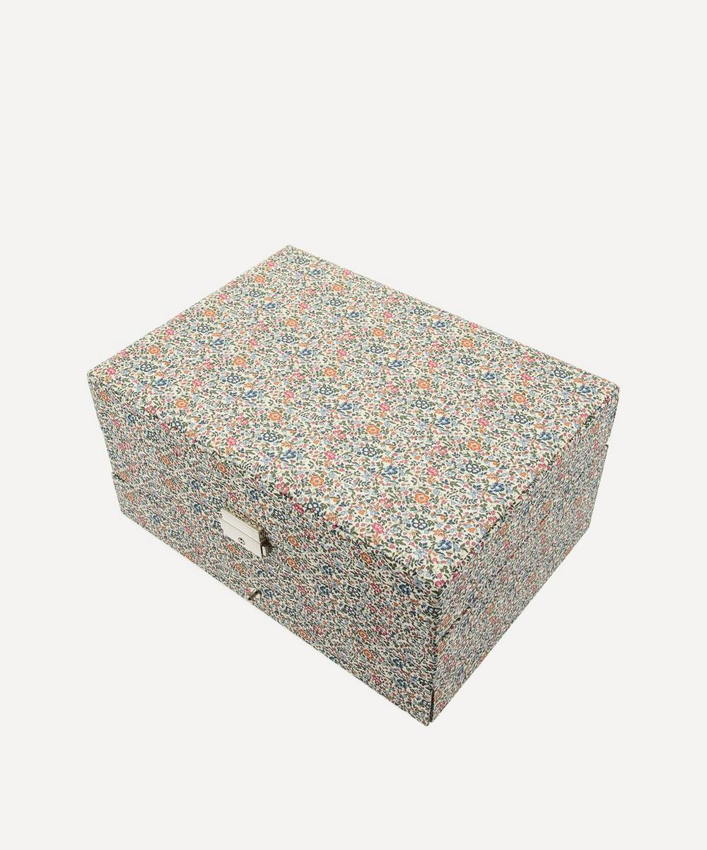 Bon Dep - Katie and Millie Liberty Print Square Jewellery Box