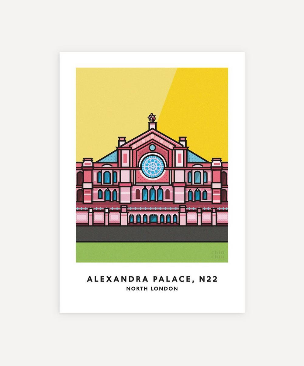 Chin Chin Prints - Alexandra Palace Unframed Print