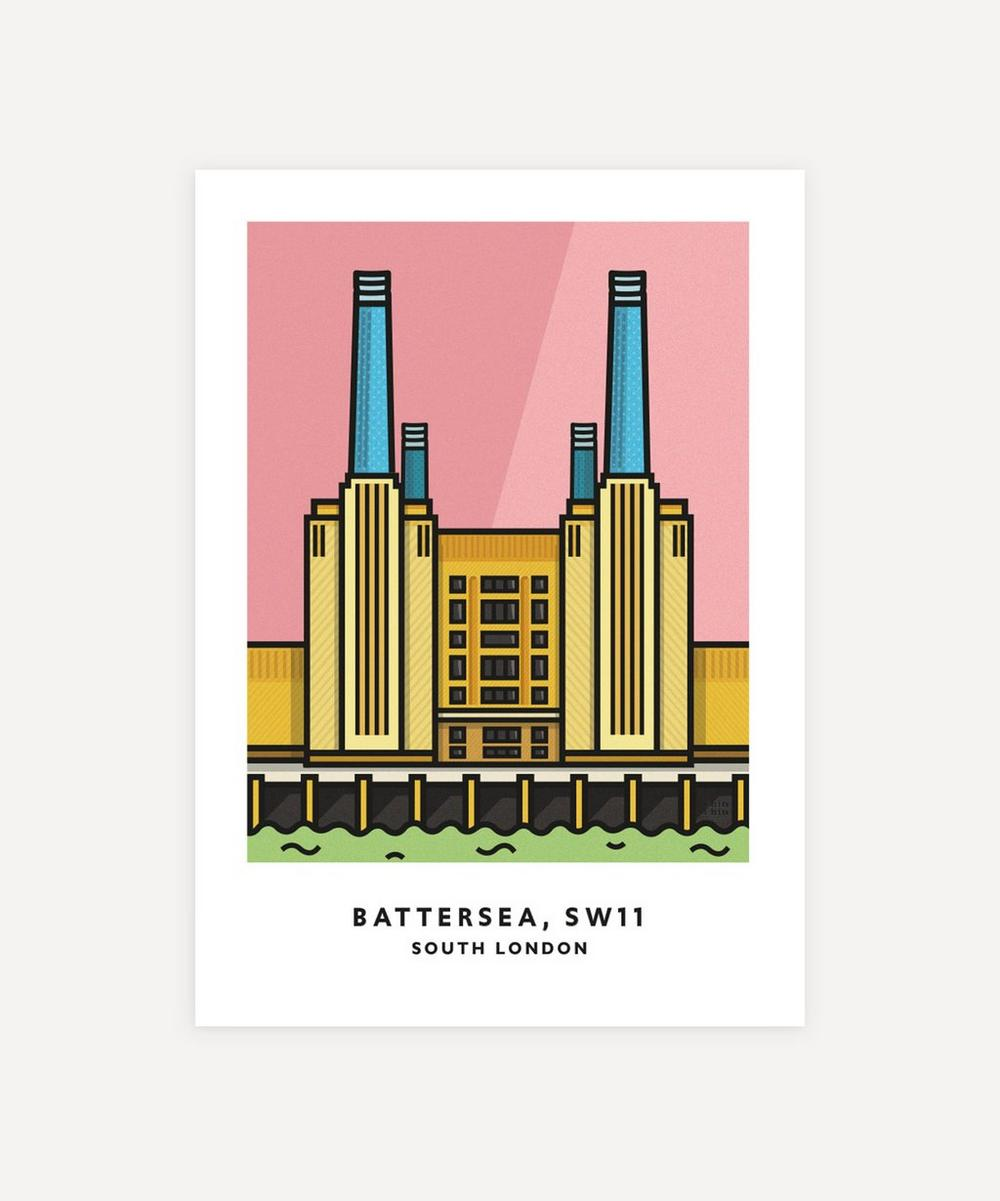 Chin Chin Prints - Battersea Unframed Print