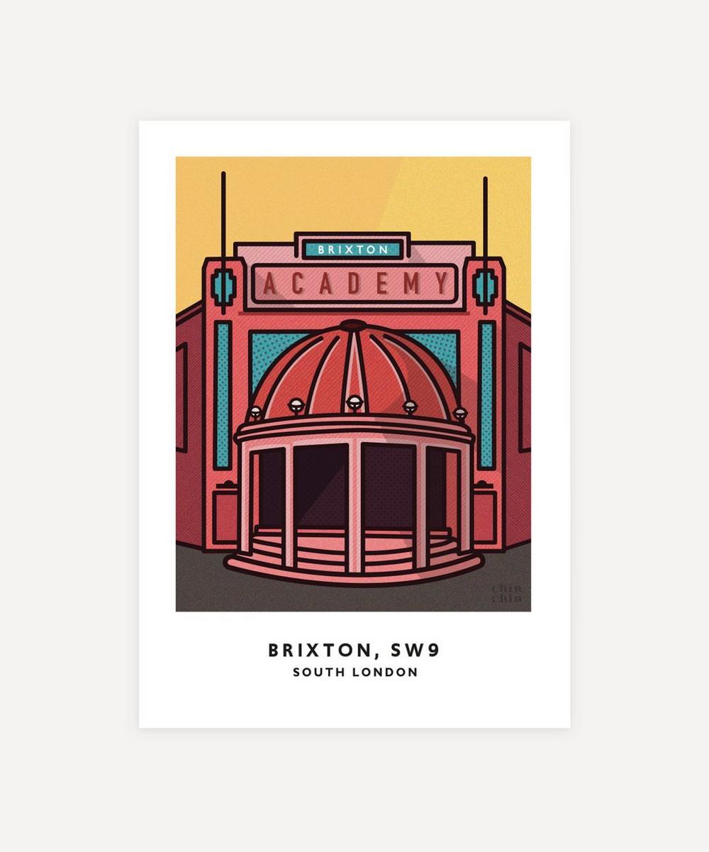 Chin Chin Prints - Brixton Unframed Print