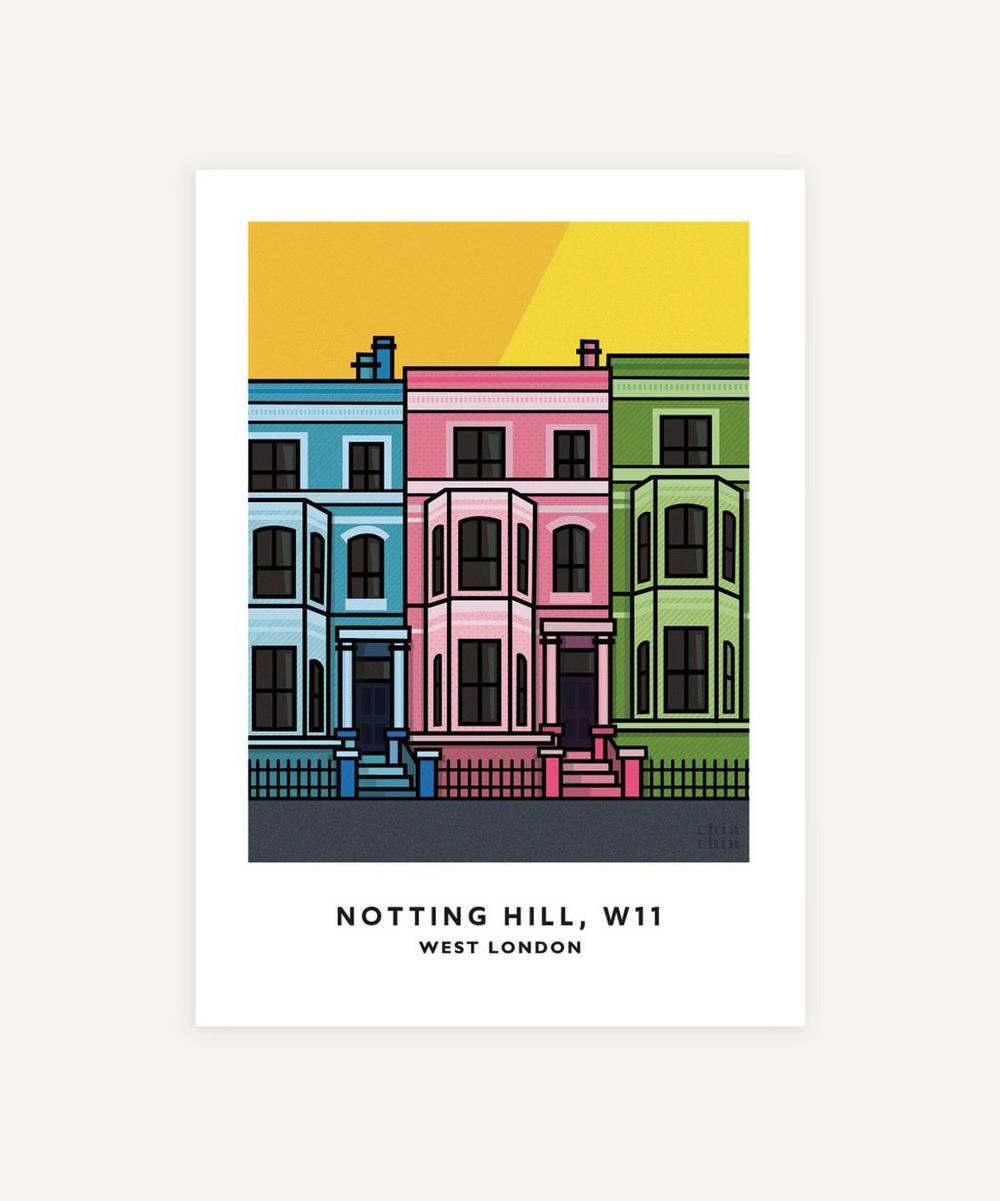 Chin Chin Prints - Notting Hill Unframed Print