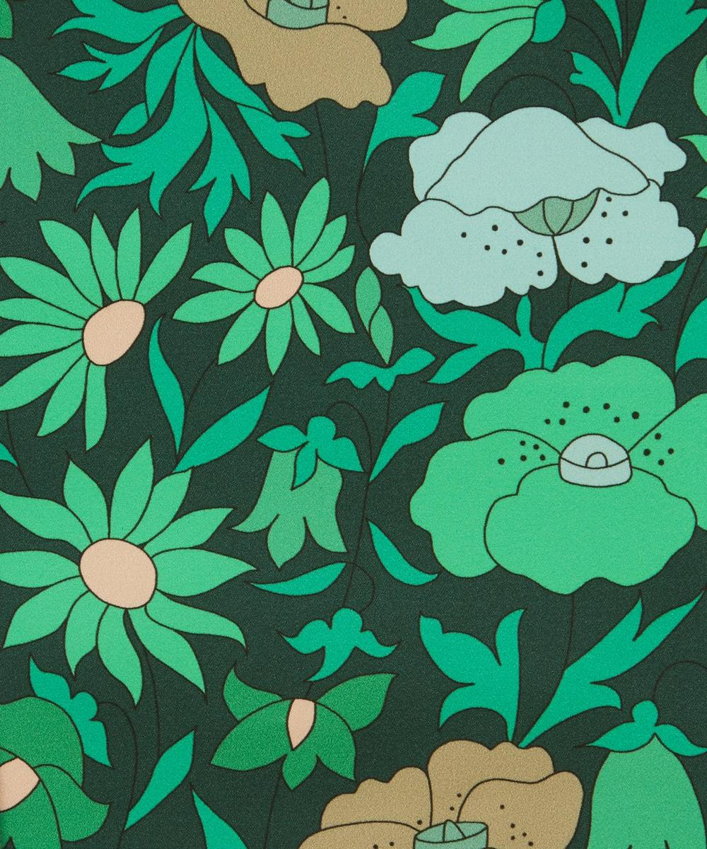 Liberty Interiors - Poppy Meadowfield Cotton Sateen in Jade