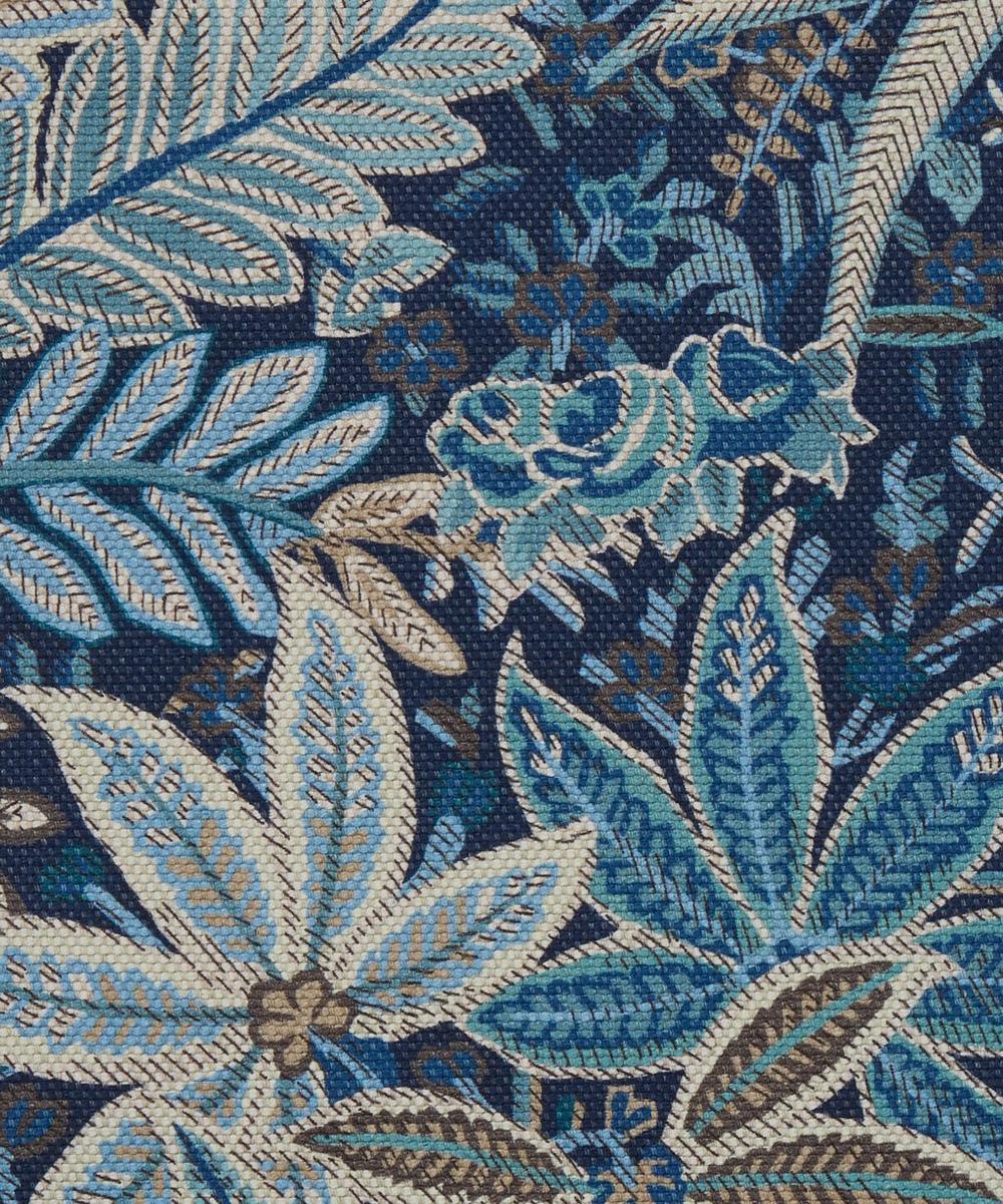Liberty Interiors - Persian Voyage Amersham Linen-Blend in Lapis