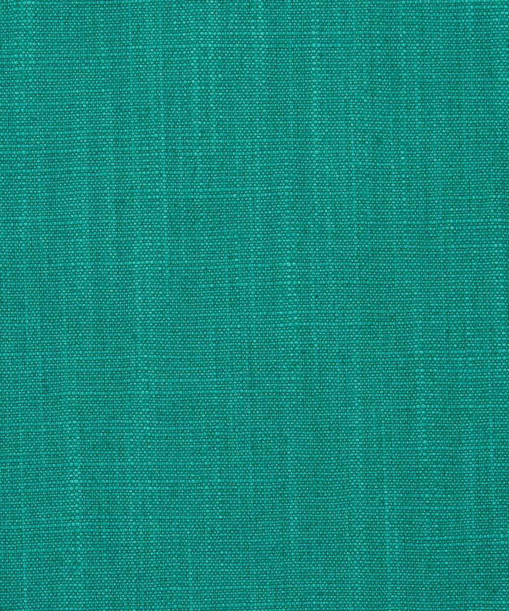 Liberty Interiors - Plain Lustre Linen in Jade
