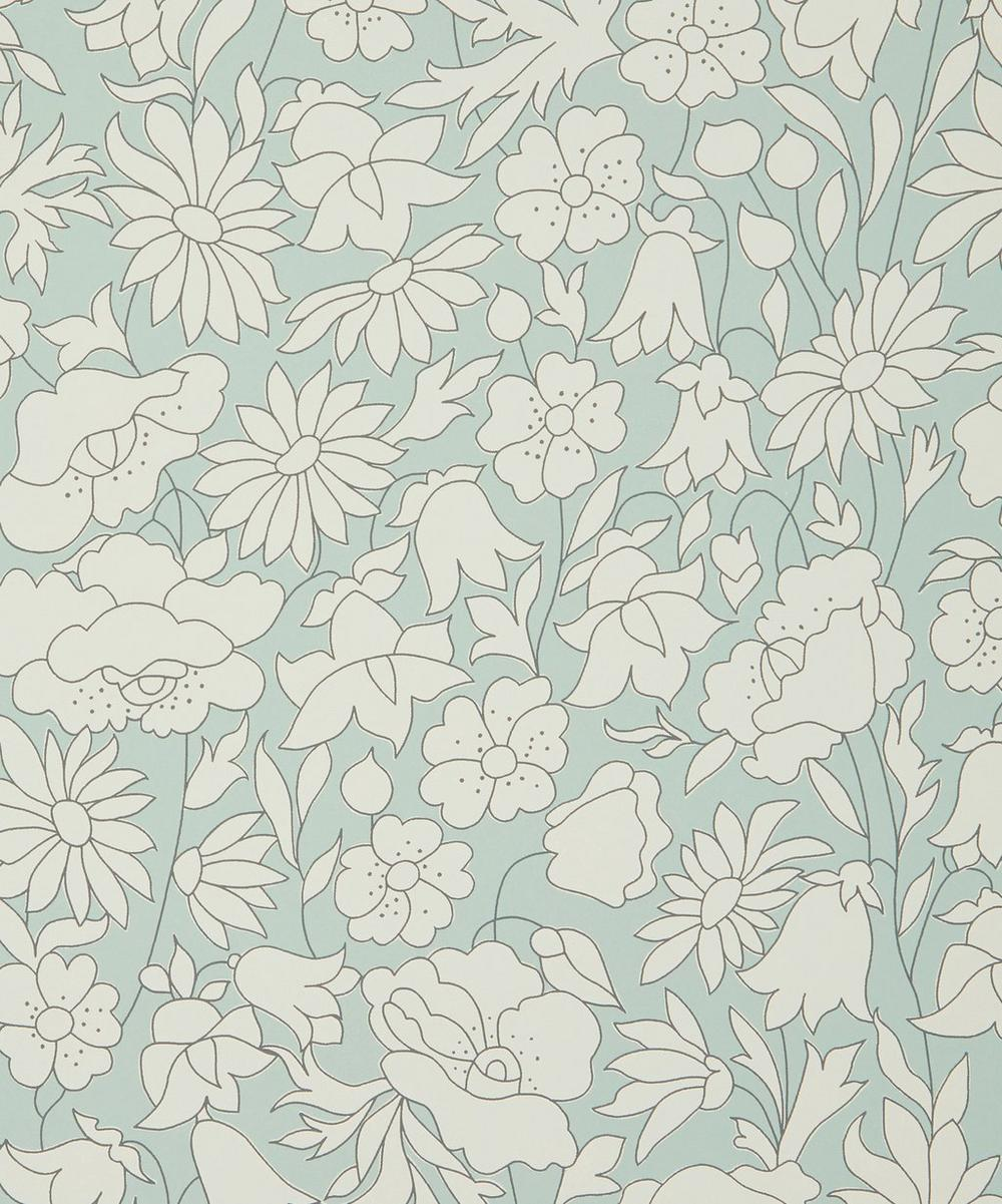 Liberty Interiors - Poppy Meadow Wallpaper in Salvia