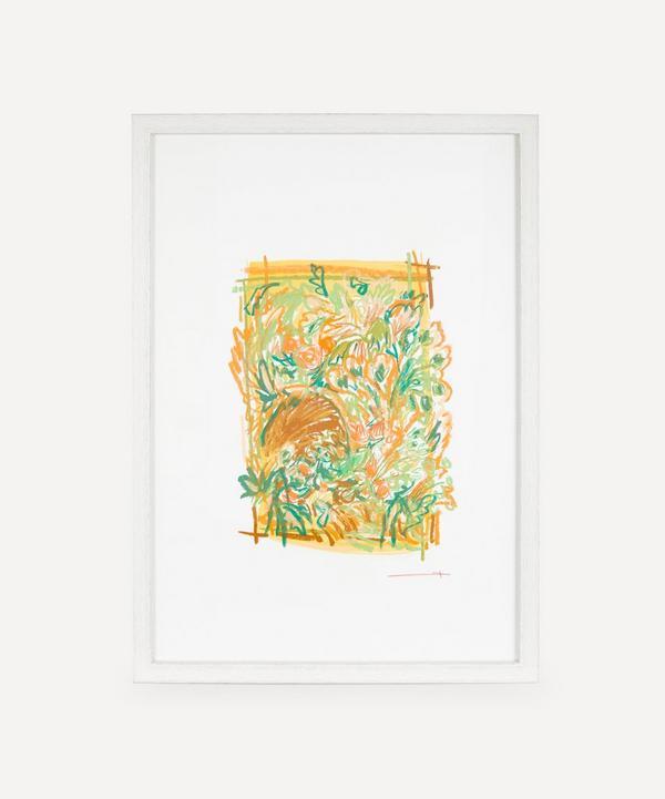 Sam Wood - Plan For A Garden 5 Original Framed Artwork