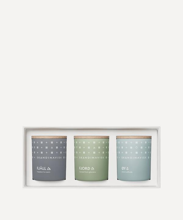 Skandinavisk - EXPLORE Mini Candle Gift Set 3 x 65g