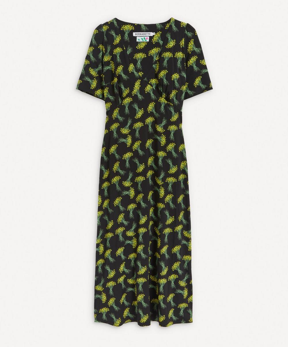 Bernadette - Chrissy V-Neck Floral Maxi-Dress