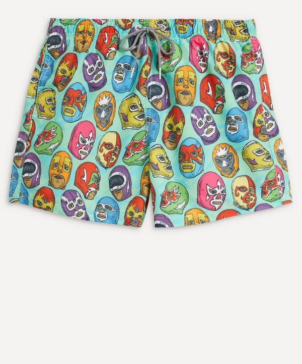 Boardies - Masks Print Swim Shorts