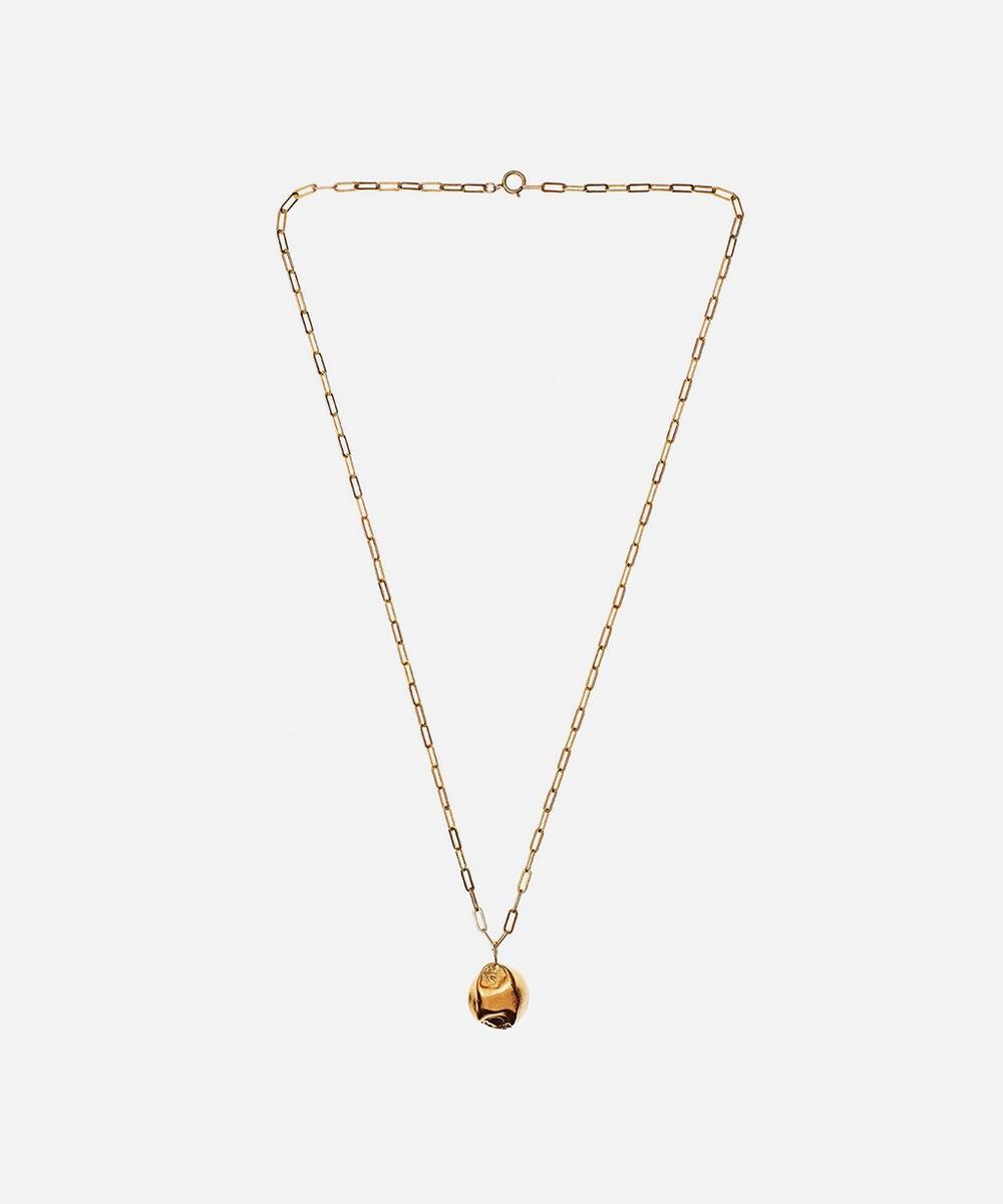 Alighieri - Gold-Plated Minerva Pendant Necklace
