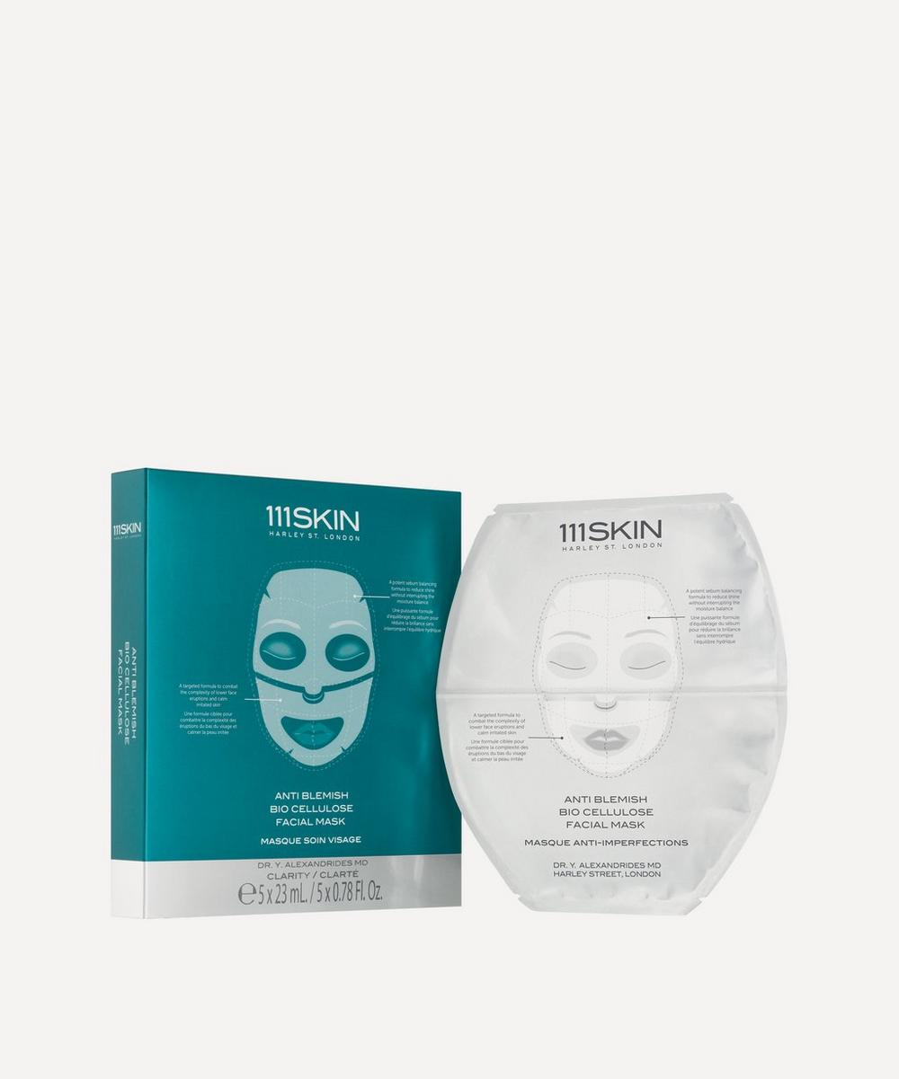 111SKIN - Anti-Blemish Bio Cellulose Facial Mask 5 x 25ml