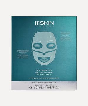 Anti-Blemish Bio Cellulose Facial Mask 5 x 25ml
