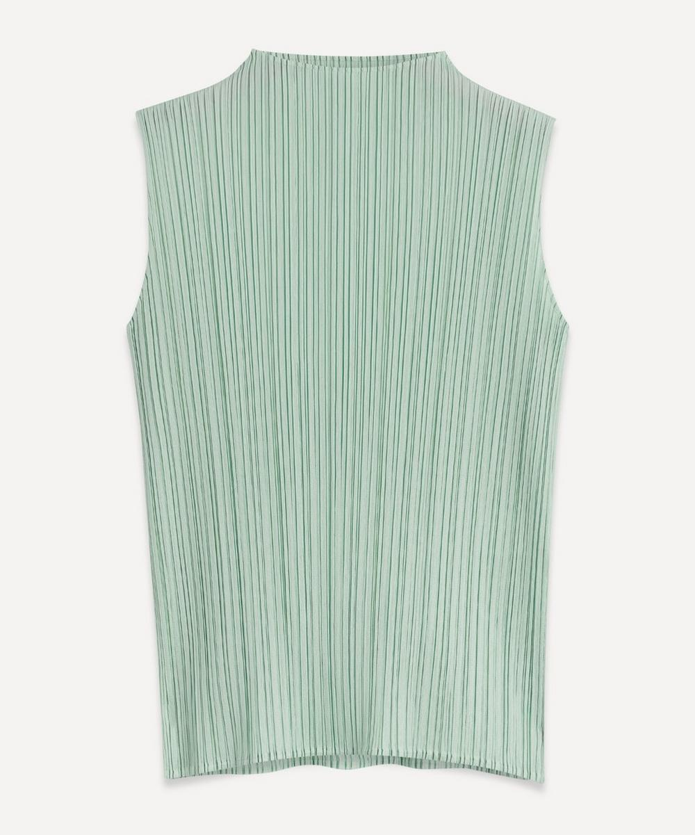 Pleats Please Issey Miyake - April Monthly Colours Sleeveless Top