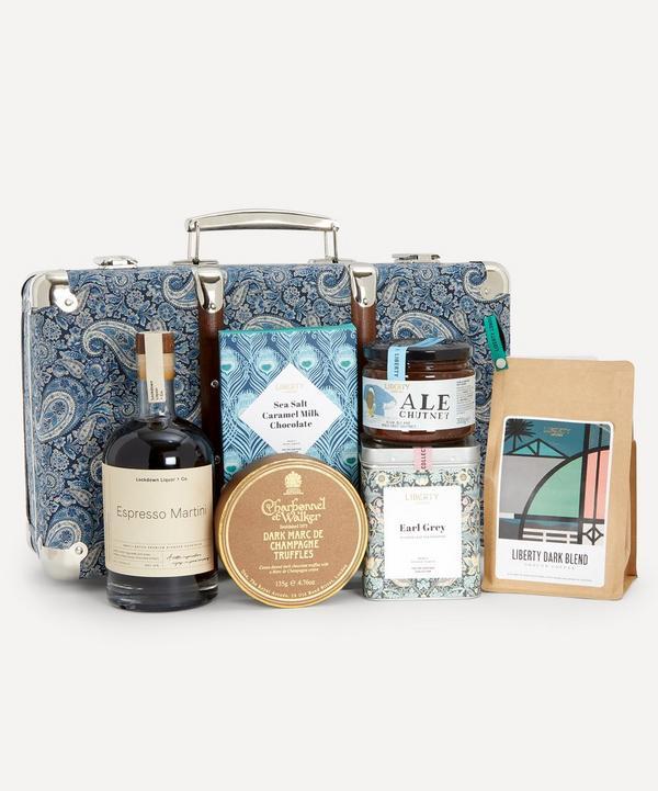 Liberty - Lee Manor Suitcase Picnic Hamper