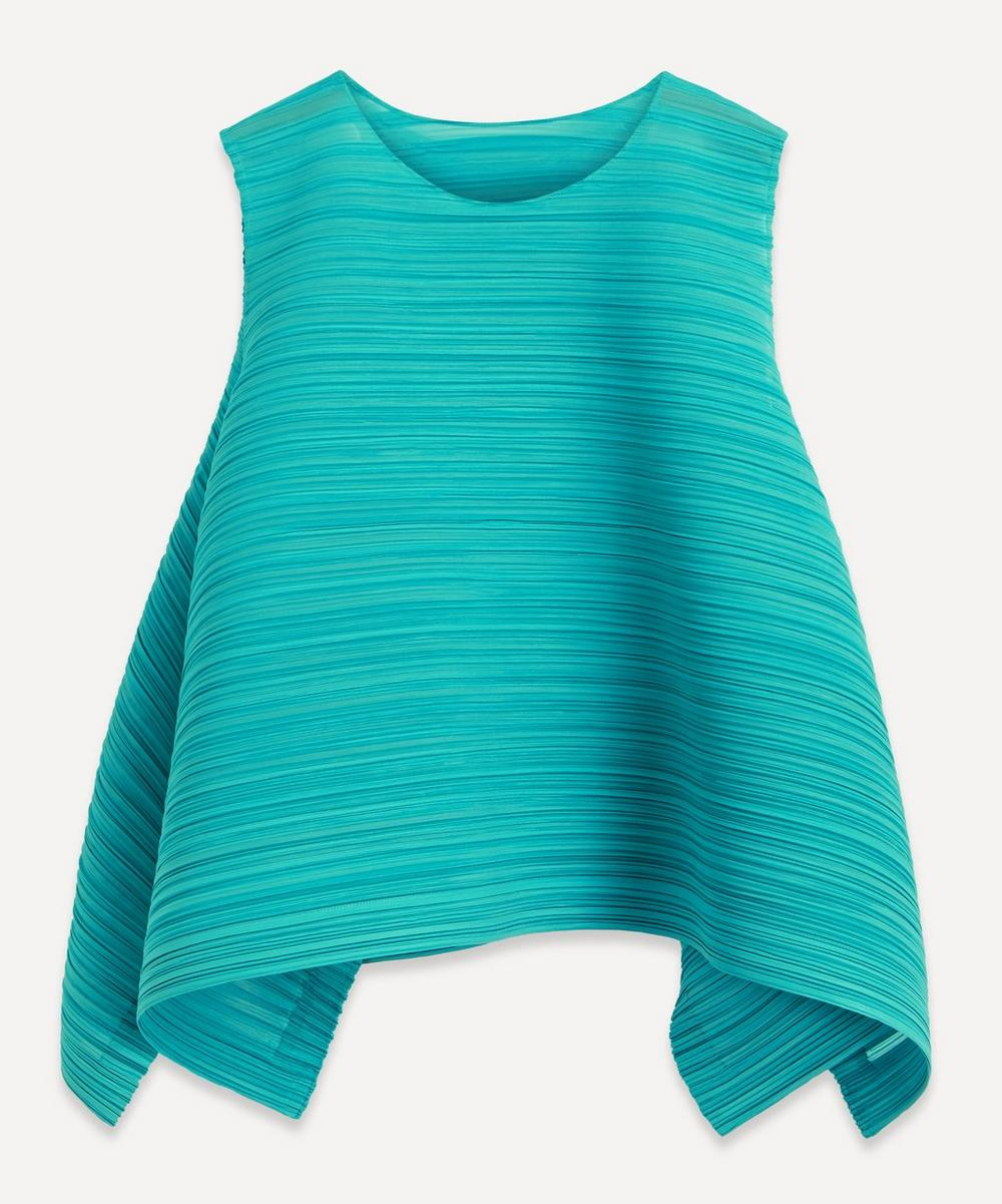 Pleats Please Issey Miyake - Komorebi Sleeveless Top