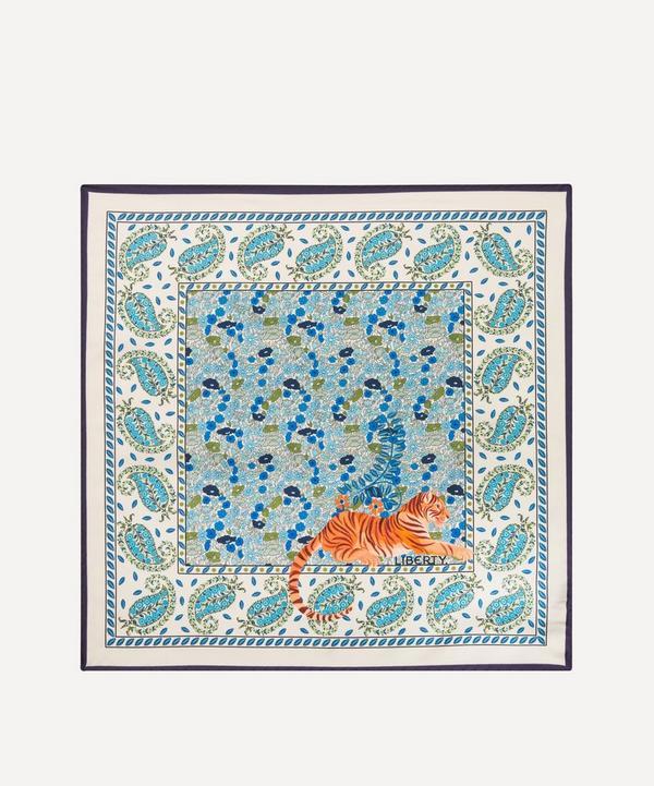 Liberty - Poppy Persia 45 x 45cm Silk Twill Scarf
