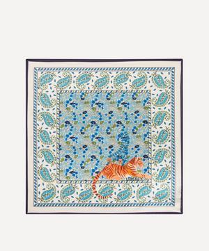 Poppy Persia 45 x 45cm Silk Twill Scarf