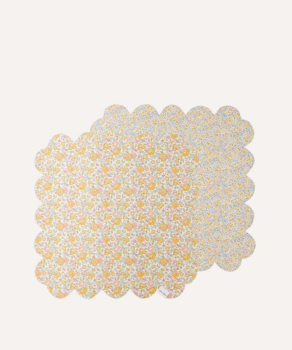Coco & Wolf - Felicite and Phoebe Scallop Napkins Set of Two