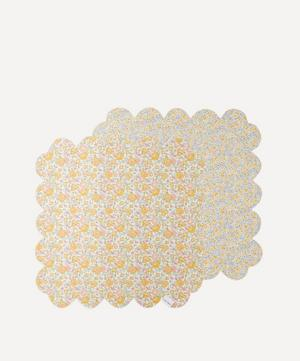 Felicite and Phoebe Scallop Napkins Set of Two
