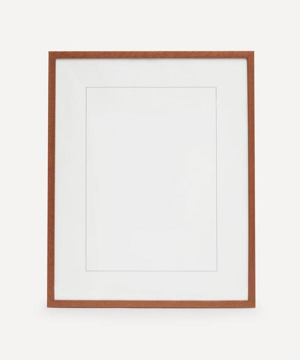 PLTY - Dark Solid Oak Wood Frame 40x50