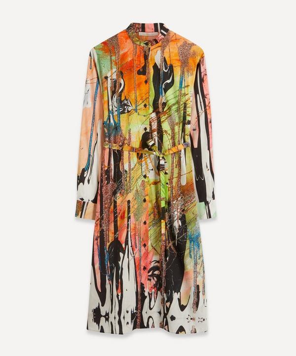 Christopher Kane - Mindscape Belted Shirt Dress