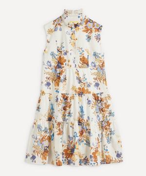 Vacation Porto Sleeveless Linen-Cotton Mini-Dress