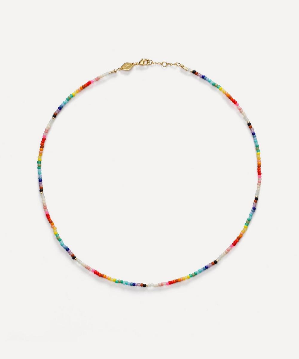 ANNI LU - Gold-Plated Nuanua Beaded Necklace