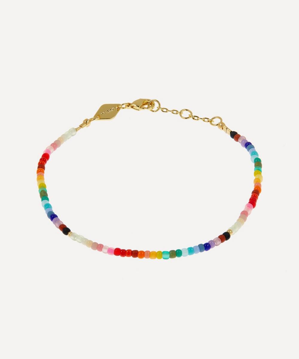 ANNI LU - Gold-Plated Nuanua Beaded Bracelet