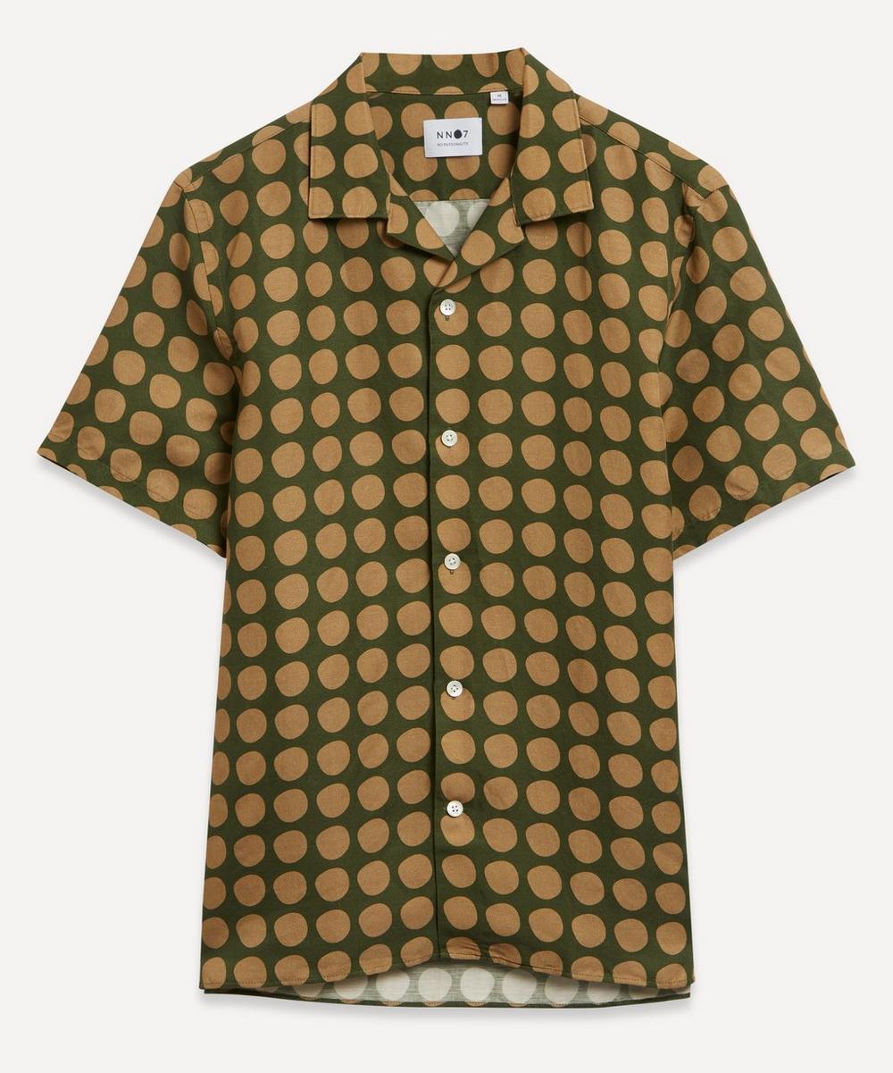 NN07 - Miyagi 5034 Printed Lyocell Blend Shirt