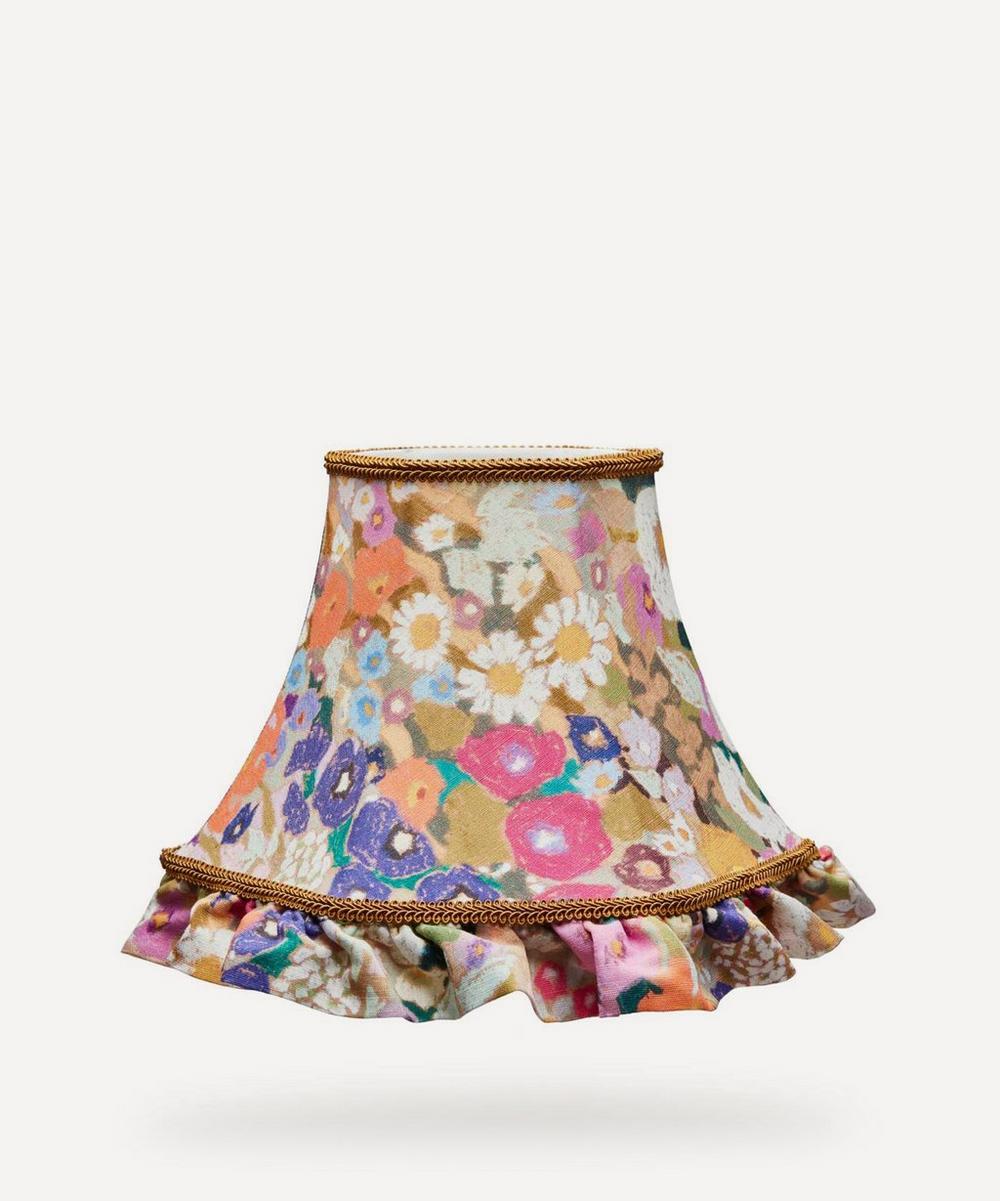 House of Hackney - Hollyhocks Cotton-Linen Petticoat Lampshade
