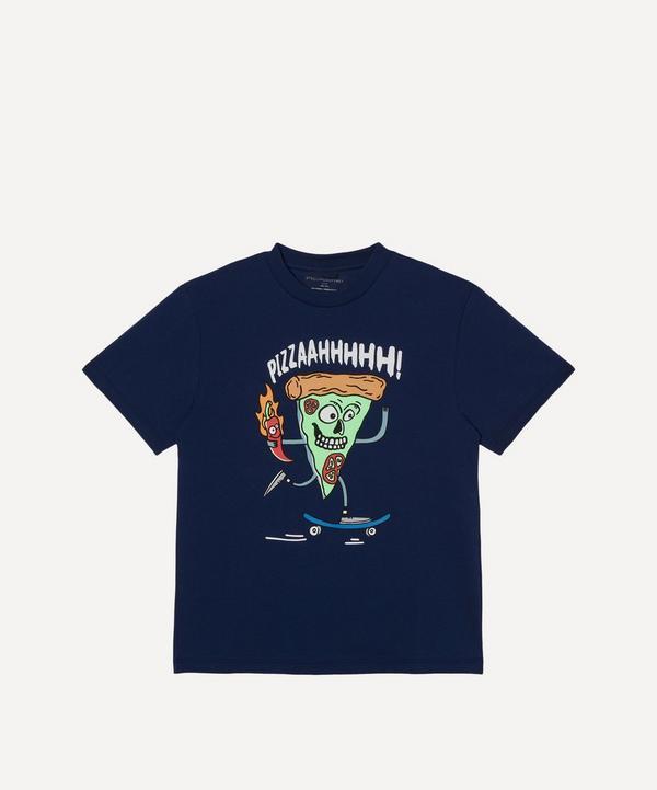 Stella McCartney Kids - Skater Pizza Short Sleeve T-Shirt 2-8 Years