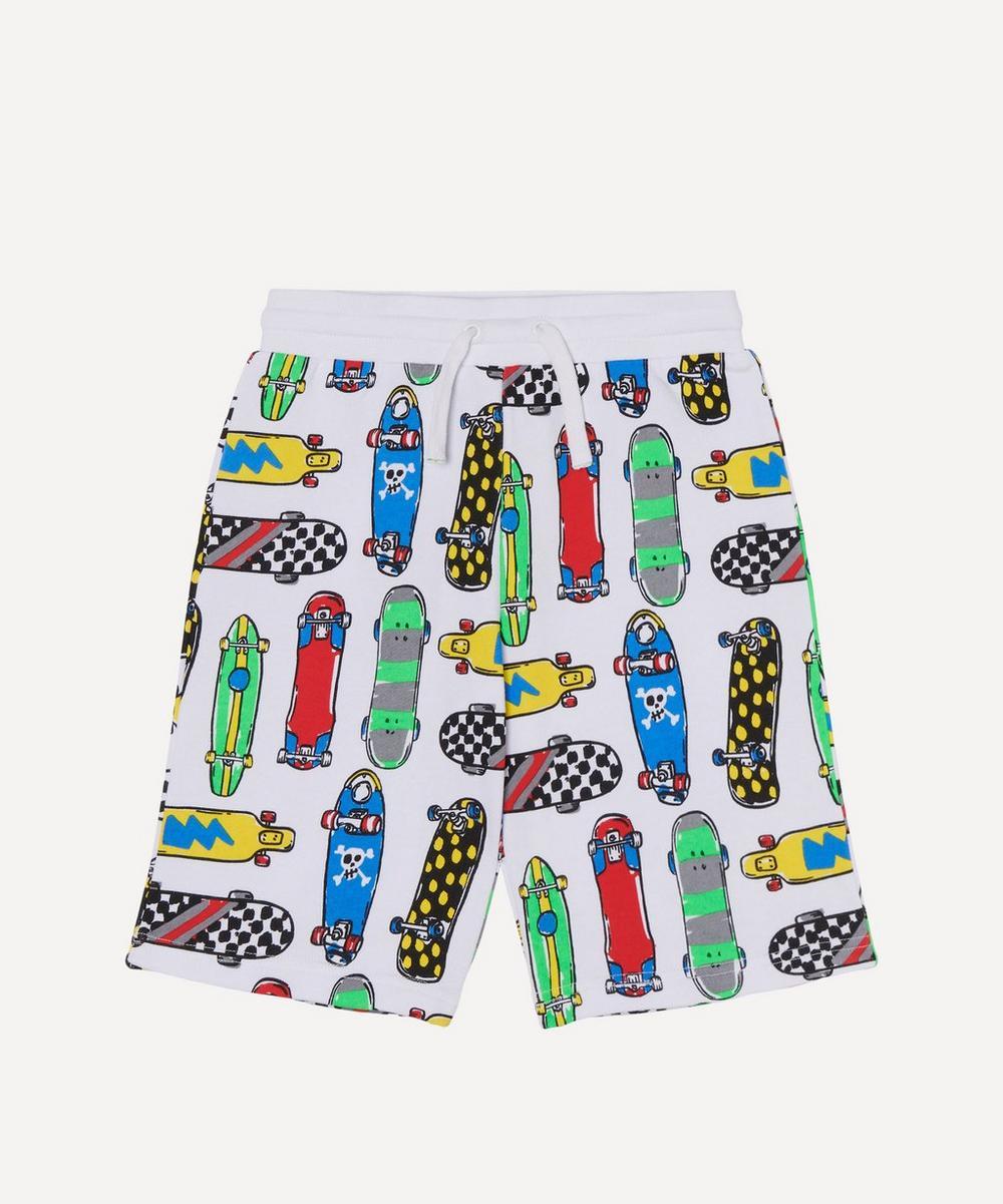 Stella McCartney Kids - Skateboards Fleece Shorts 2-8 Years