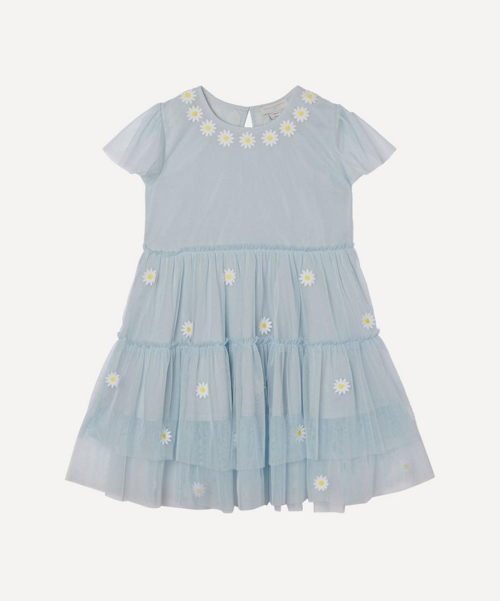 Stella McCartney Kids - Daisy Embroidered Tulle Dress 2-8 Years