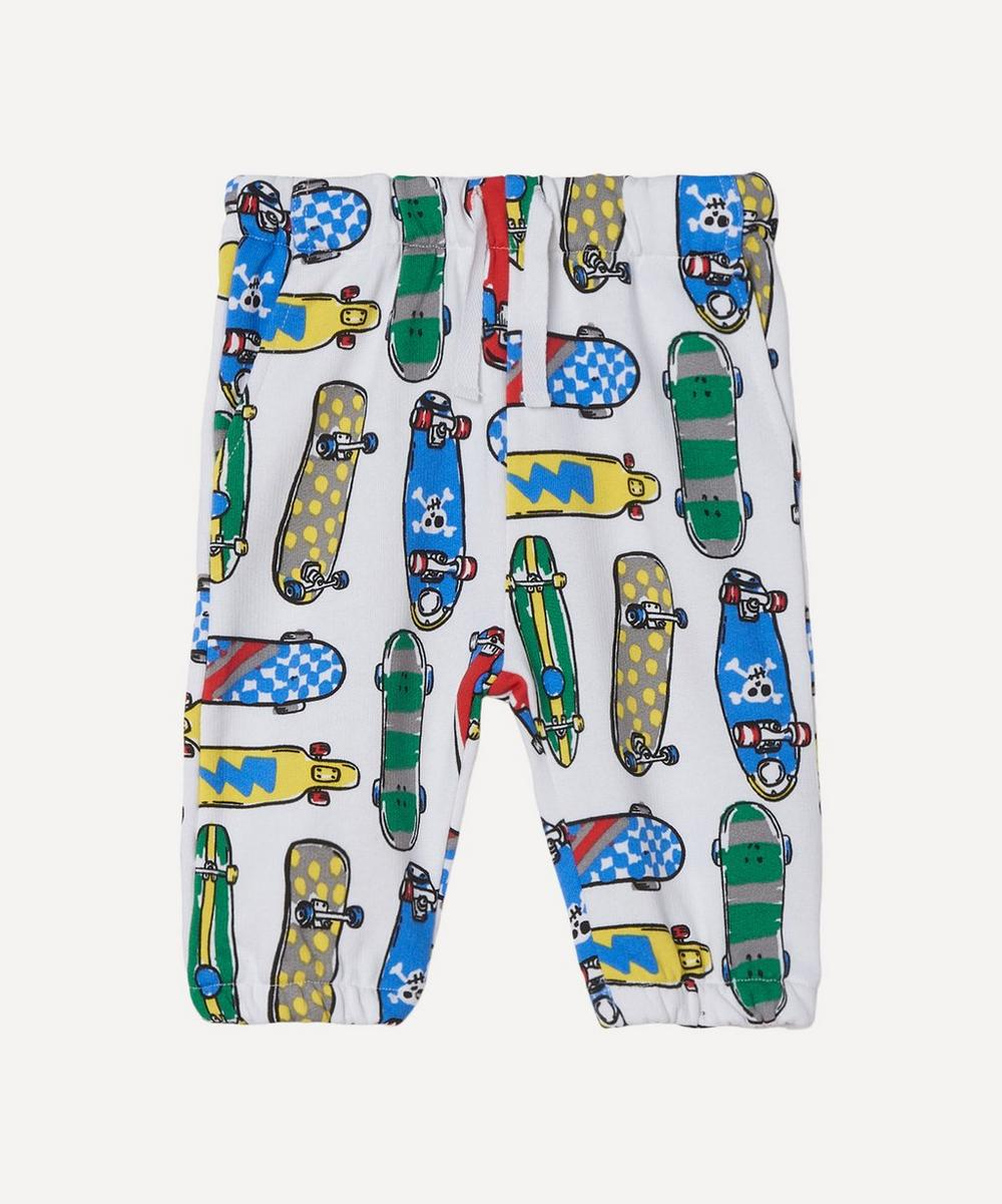 Stella McCartney Kids - Skateboards Fleece Joggers 3 Months-3 Years