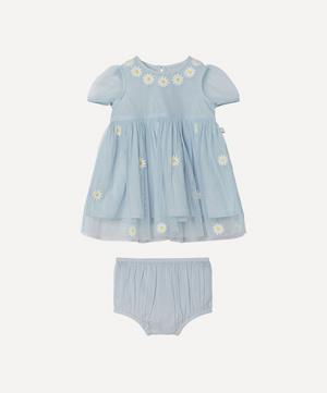 Daisy Embroidered Tulle Dress 3 Months-3 Years