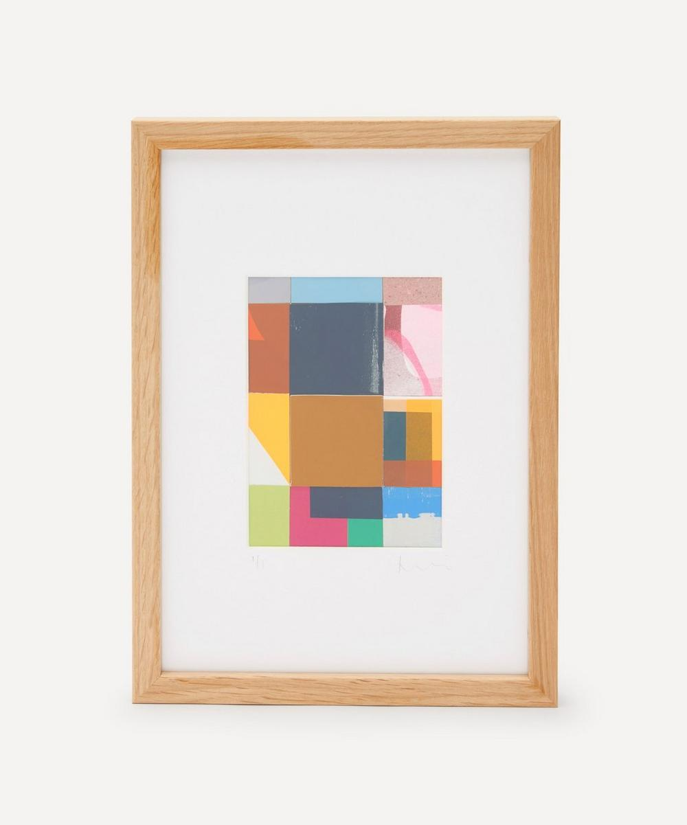 Jonathan Lawes - Plaid 04 A4 Framed Collage