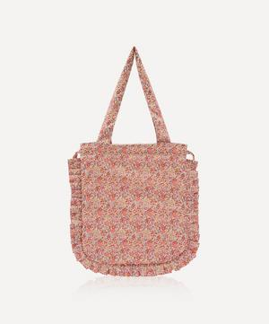 Emma and Georgina Frilled Cotton Tote Bag