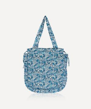 Elysian Day Frilled Cotton Tote Bag