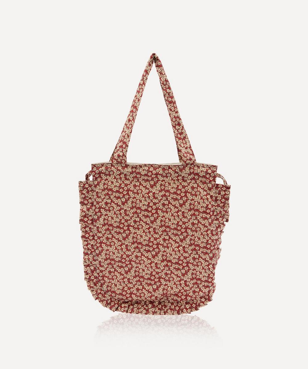 Maison M - Ffion Frilled Cotton Tote Bag