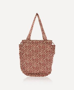 Ffion Frilled Cotton Tote Bag