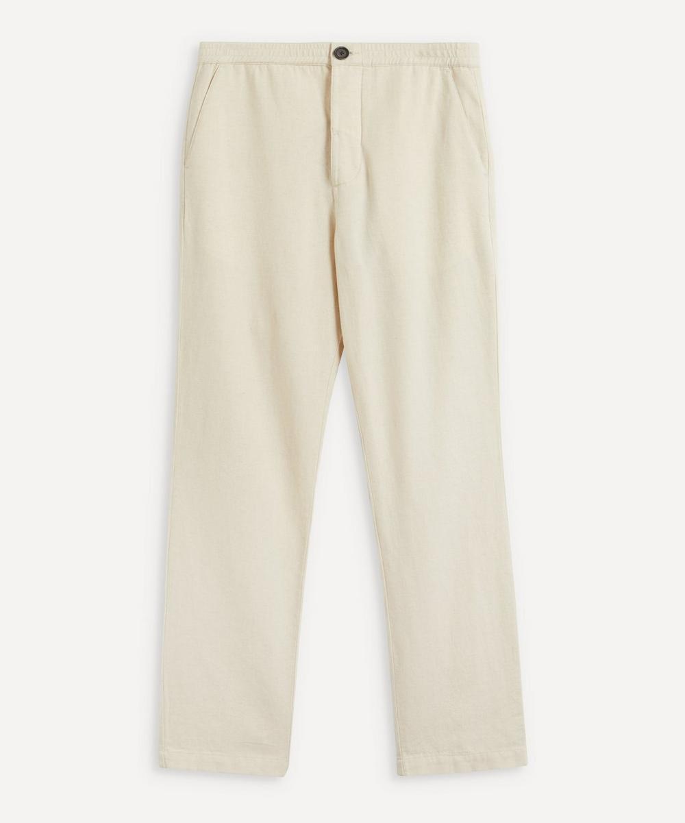 Oliver Spencer - Drawstring Linen-Blend Trousers