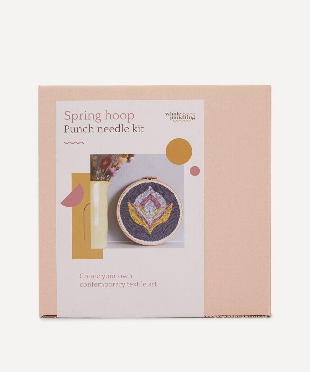 Whole Punching - Spring Floral Punch Needle Kit