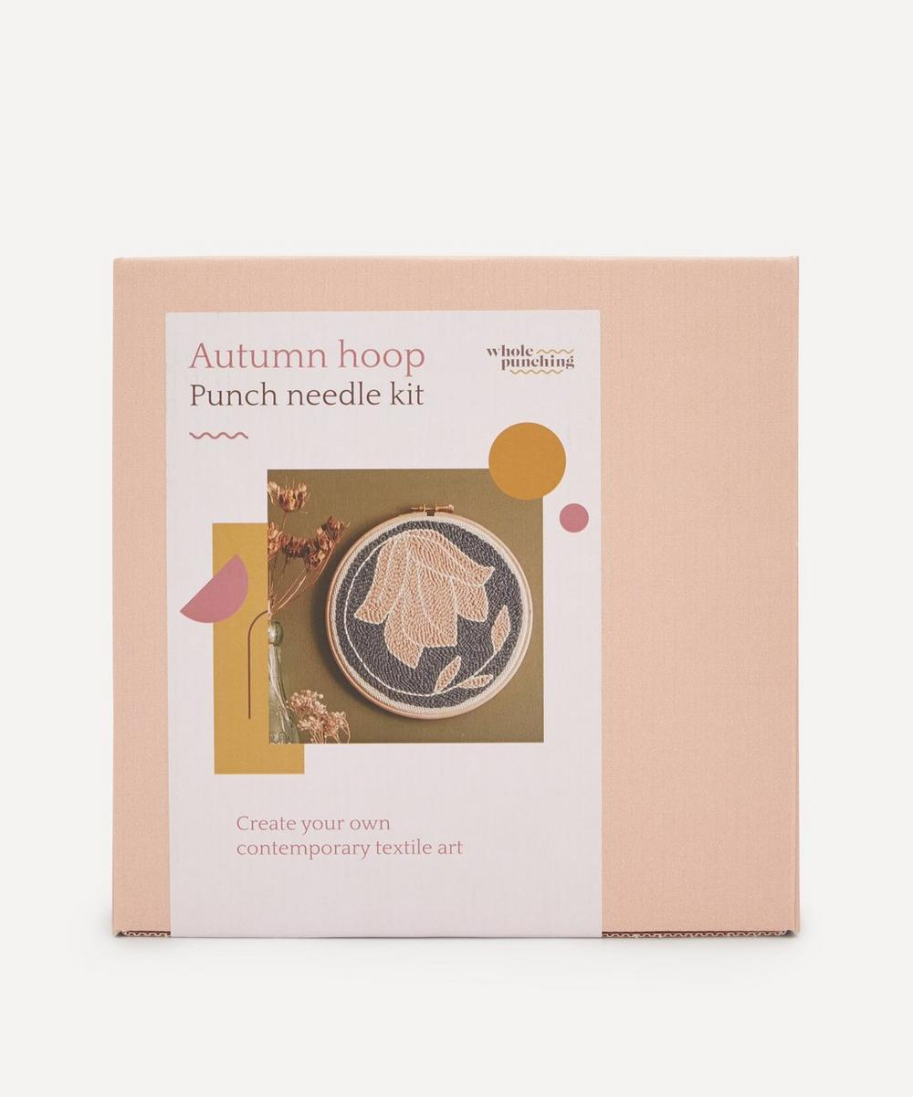 Whole Punching - Autumn Floral Punch Needle Kit