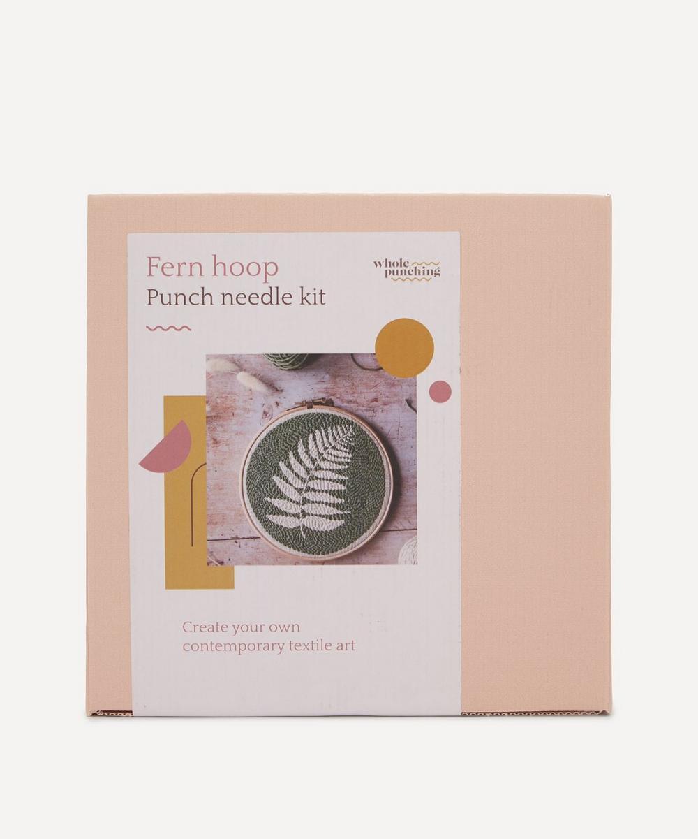 Whole Punching - Fern Leaf Punch Needle Kit