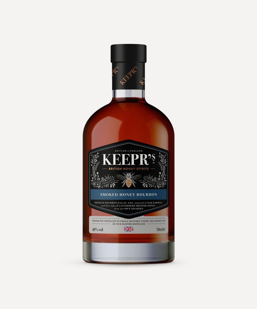 The British Honey Company - Keepr's Smoked Honey Bourbon 700ml