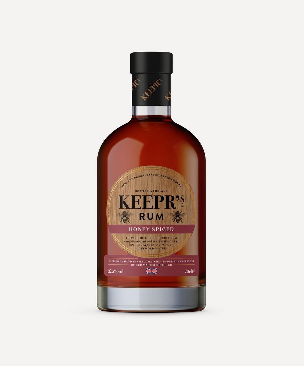 The British Honey Company - Keepr's Honey Spiced Rum 700ml